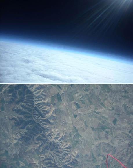 '똑딱이 카메라'로 찍은 우주 속 지구 사진